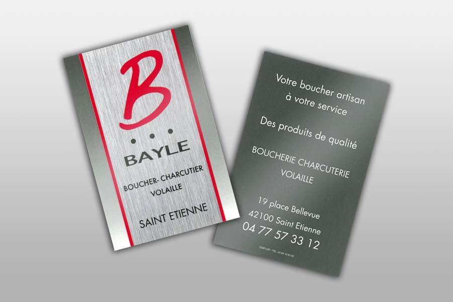Cartes De Visite Pour Metiers La Boucherie Et Traiteurs