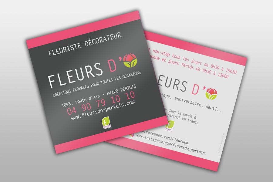 Cartes De Visite Pour Fleuristes